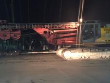 Транспортировка буровой установки DELMAG RH 32