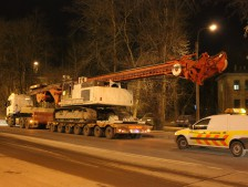 Доставка  Drilling Rig DELMAG RH30 Liebherr R944TR