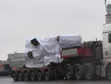 Проектная транспортировка 100 тонного пресса