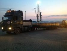Перевозка бетонного кольца