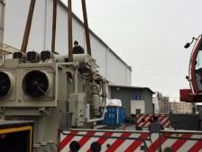 Проект по доставке двух силовых масляных трансформаторов «Сименс».