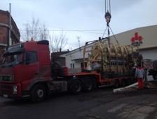 Перевозка  дизель-генератора